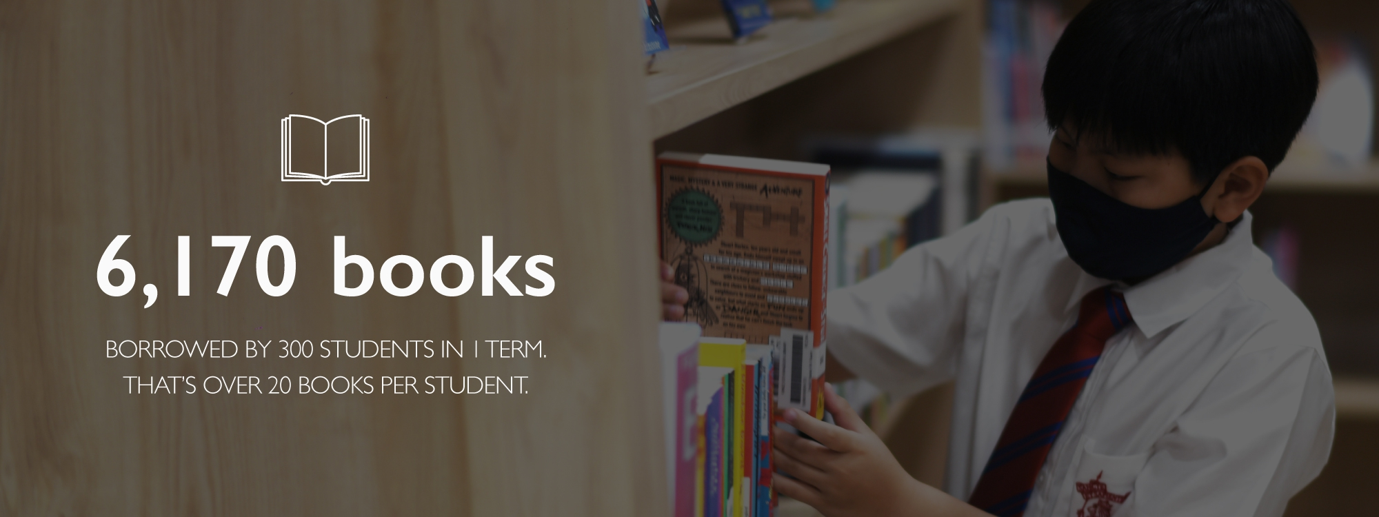 King's Bangkok enriches the world of learning through reading.