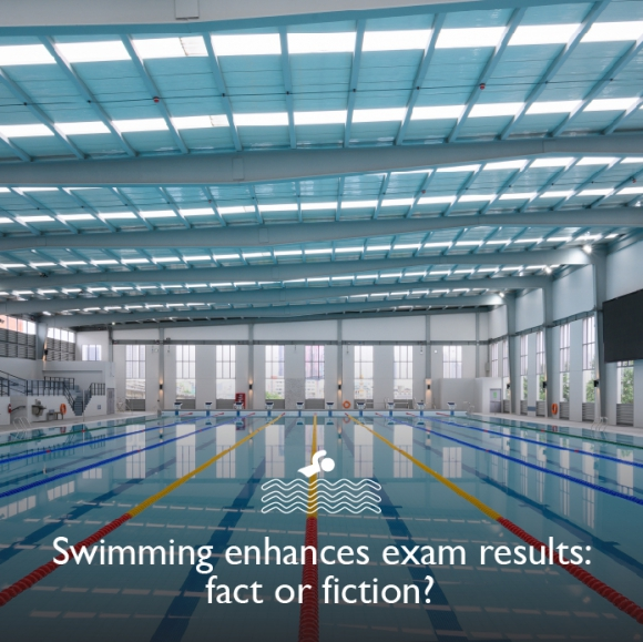 Swimming enhances exam results: fact or fiction?