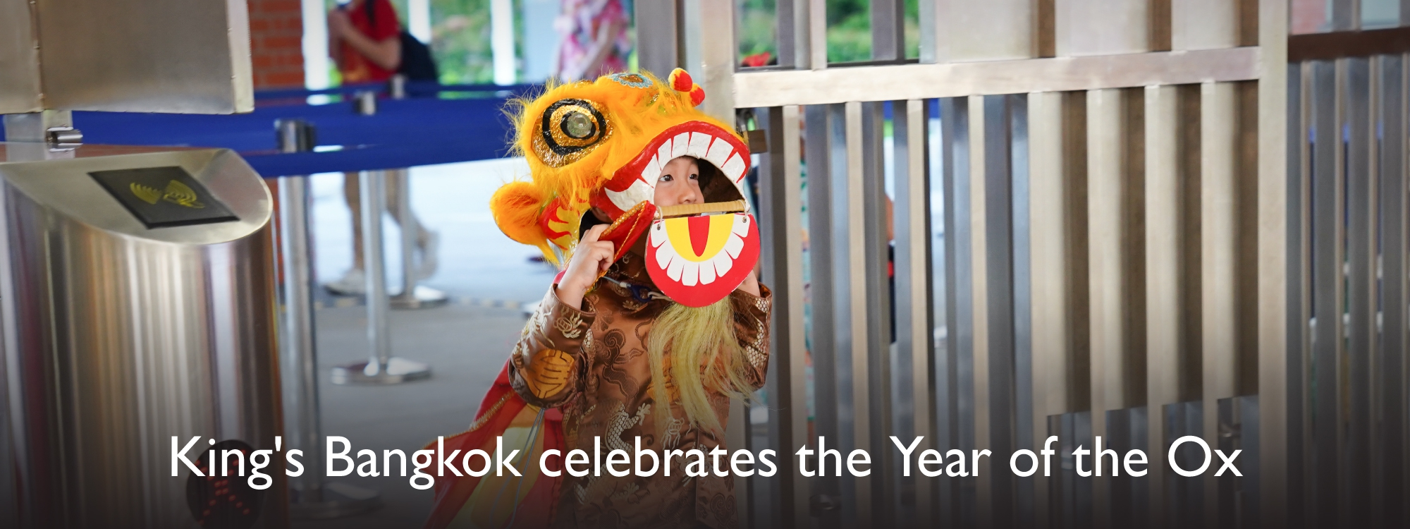 Celebrates the Year of the Ox.