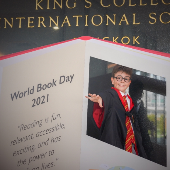 King's Bangkok celebrates World Book Day.