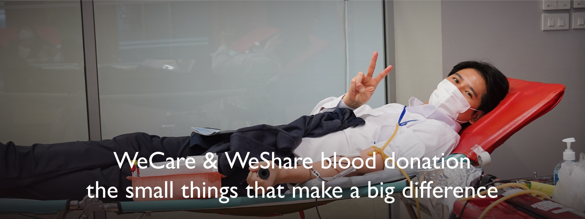 WeCare & WeShare blood donation