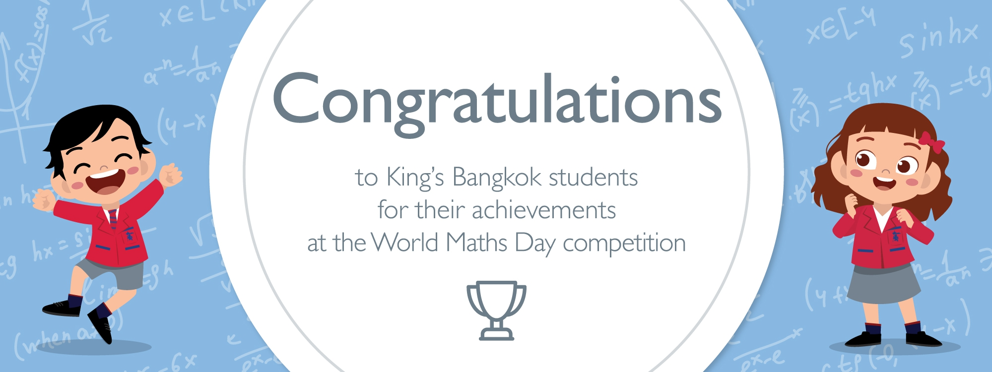 Congratulations to 7 champions of Thailand at the World Maths Day