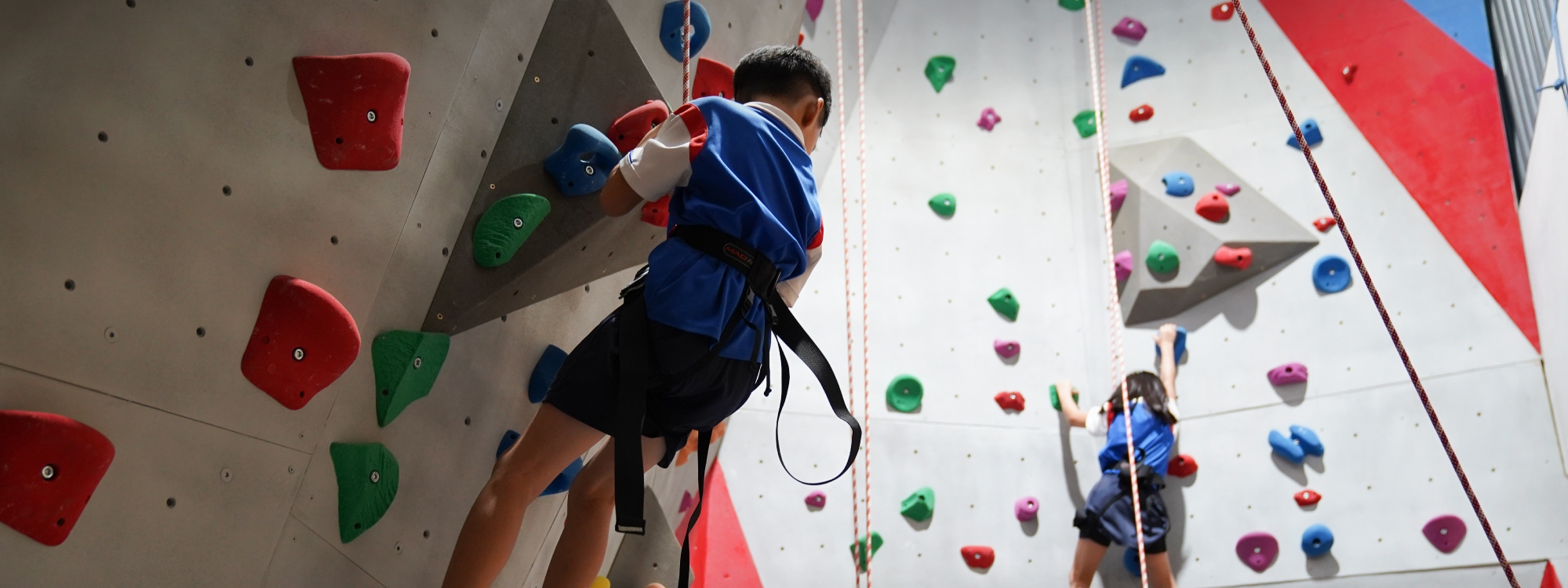 Climbing, a body-strengthening and mind-sharpening activity