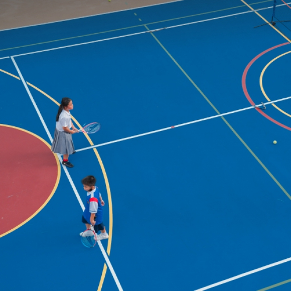 King's Bangkok designed multipurpose courts to allow the effective plays and enhance the well-rounded curriculum